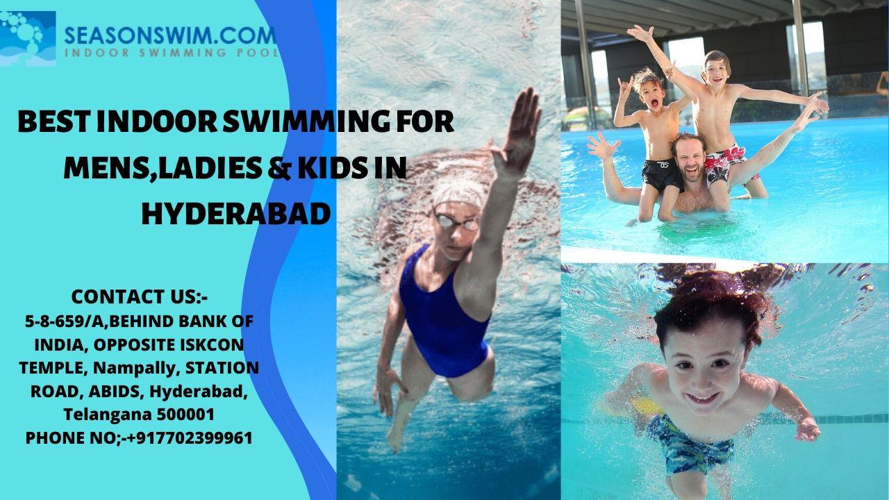 Season swimming pool for Mens, Kids in Abids